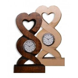 Welsh Carved Lovespoon Clock