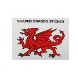 Small Cutout Dragon Sticker