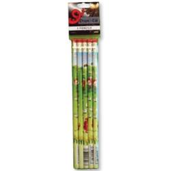 5pk Comic Wales Pencils