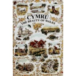 Beauty of Wales Tea Towel