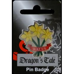 Wales Daffodil Pin Badge