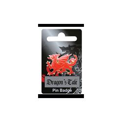 Red Dragon Pin Badge
