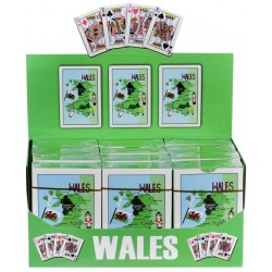 Wales Map Playing Cards