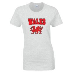 Women's Wales T-Shirt White