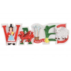 Wales Word Magnet