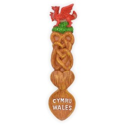 Wales Lovespoon Magnet