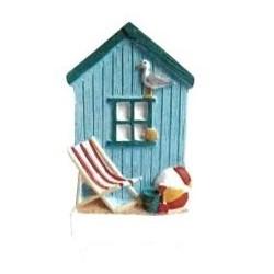 Personalised Beach Hut Magnet
