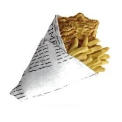 Personalised Chips Magnet