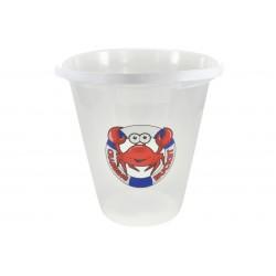 "9"" Transparent Crab Bucket..."
