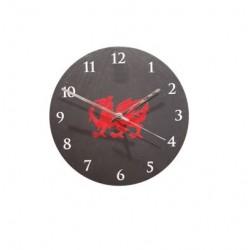 "6"" Welsh Slate Dragon Clock"