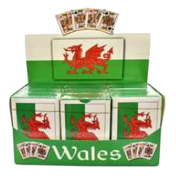 Wales Flag Playing Cards