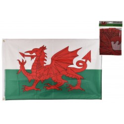 5' x 3' Wales Flag With...
