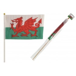 "12"" x 18"" Wales Flag on..."
