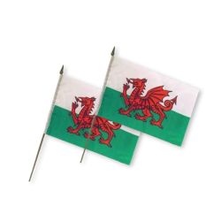 "6"" x 9"" Wales Flag on..."