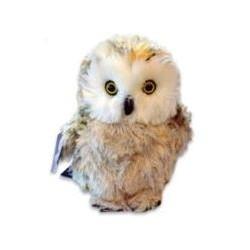 20cm Fluffy Owl