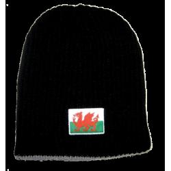 Welsh Flag Beanie Hat