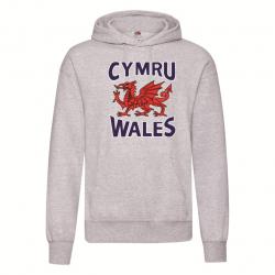 Wales / Cymru Adult Hoodie...