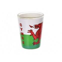 Wales Cymru Dragon Shot Glass