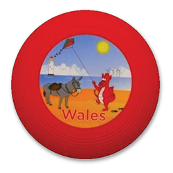 Wales Comic Flying Disc