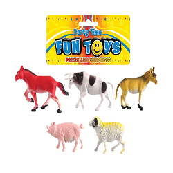 Plastic Farm Animal Set