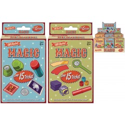 15 Magic Tricks In Retro Box